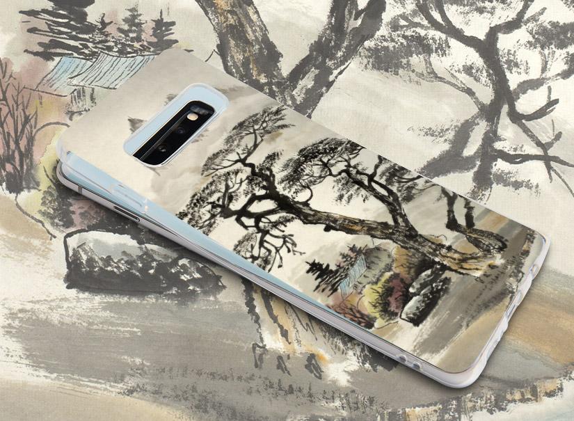 Smartphonehülle mit chinesischer Landschaft