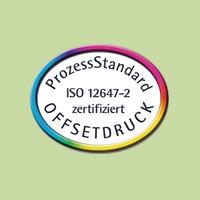 Logo vom ProzessStandard für Offsetdruck