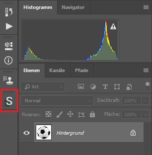Photoshop Schatten generieren