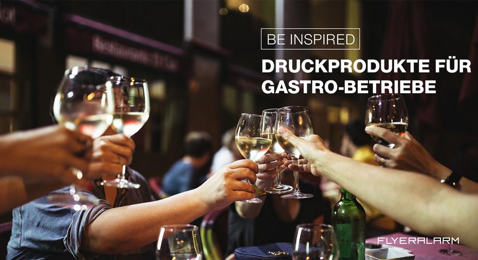 Werbemittel Gastronomie