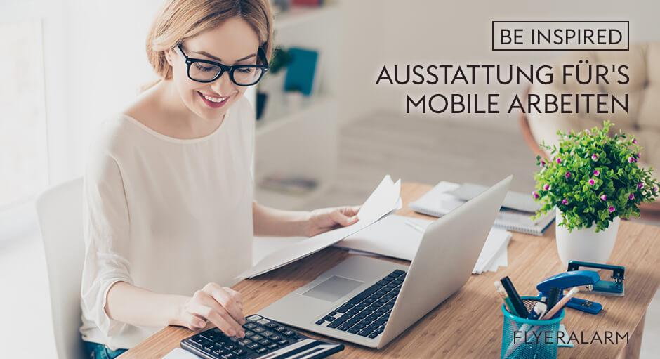 Ausstattung für mobiles Arbeiten