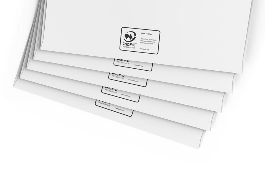 Briefumschläge PEFC™ zertifiziert