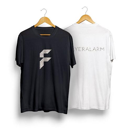 Shirt mit Glitzerveredelung