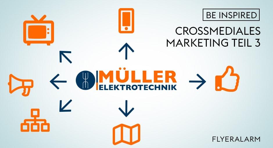 Crossmediale Werbung