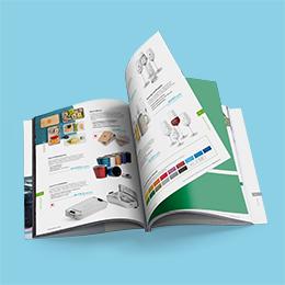Give Aways-Katalog Inhaltsverzeichnis