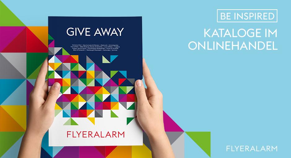 Give Aways-Katalog Titelbild