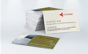 Business cards - design online