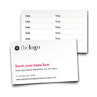 Design appointment cards online and order