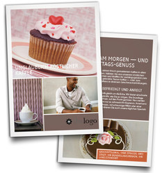 design flyers online and print it