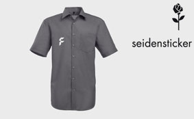 Deluxe short-sleeve shirts, with breast pocket