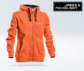 Women's sweat jacket with hood