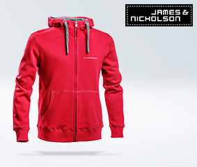 Men's sweat jacket with hood