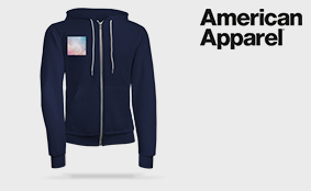 Sweatvesten American Apparel
