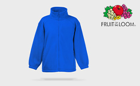 Muster Fleecejacke Kinder