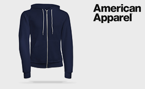 Muster Sweatjacken American Apparel