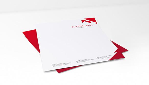 Briefpapier Briefbögen Günstig Drucken Bei Flyeralarm