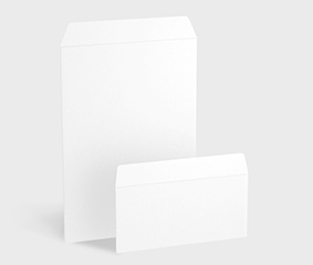 Blank Envelopes without Window, Peel and Seal