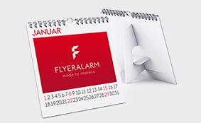 Calendari da tavolo personalizzati stampa online su flyeralarm