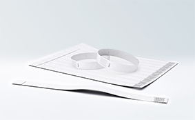Tyvek® wrist bands, unprinted