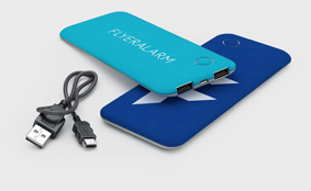 Powerbanks 5.000 mAh Softtouch
