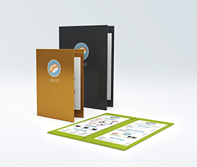 Coloured menus