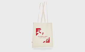 Premium organic cotton fabric bag