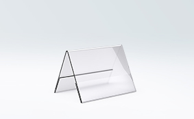 Table displays, 10.5 x 7.4cm