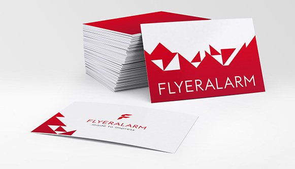 Business cards order your printed products at flyeralarm business cards reheart Images