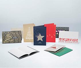 Weihnachtskarten Flyeralarm.Weihnachtskarten Mit Design Blanko