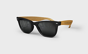 Bamboo-patterned sunglasses