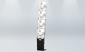 Foldable brochure stands