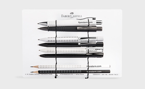 Set met Faber-Castell samples