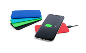 Sample soft touch wireless charger