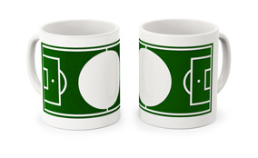Sample football mugs