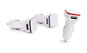 Sample cigarette lighter USB adapter