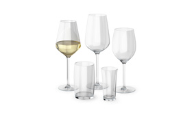 Sample white wine glass