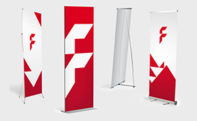 Roll-Ups und Displays