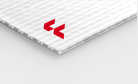 Polypropylene twin-wall sheets