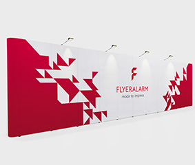XXL magnetic pop-up displays, mechanism and print