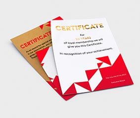 Documents / Certificats