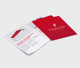 Brochures in specific print run - new material
