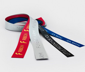 Gift ribbons with hot foil - new colours