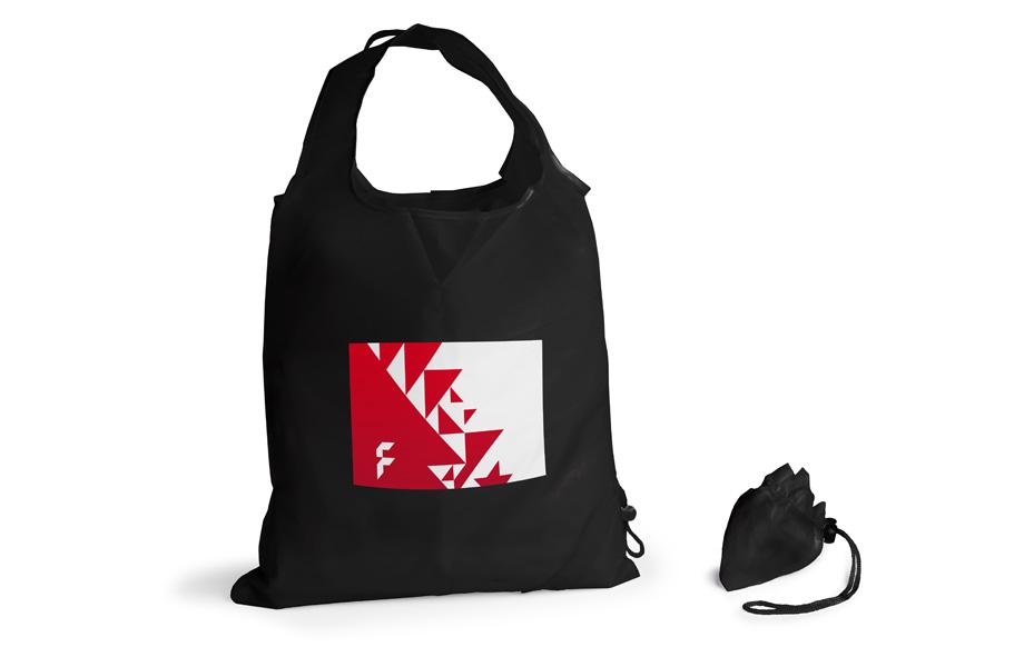 zu Füßen bei große Auswahl gutes Geschäft Faltbare Einkaufstaschen online bedrucken bei FLYERALARM