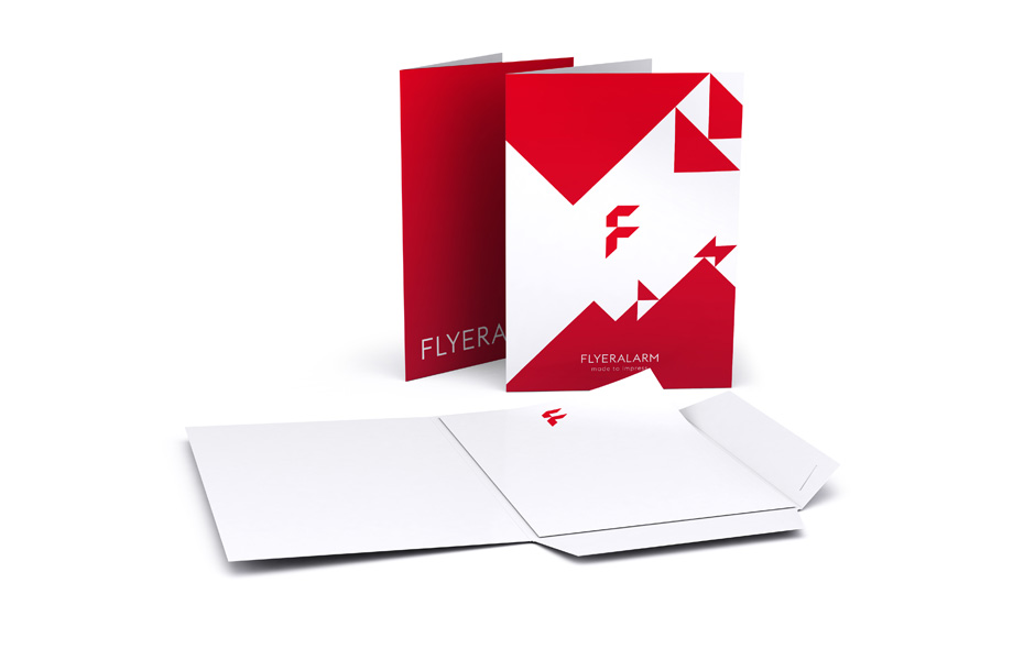 Print presentation folders : : with card holder