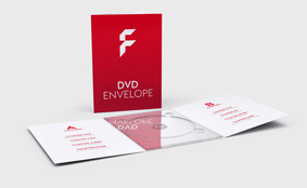 DVD envelopes - 2 fold