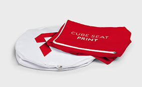 Cube seats, print without foam core