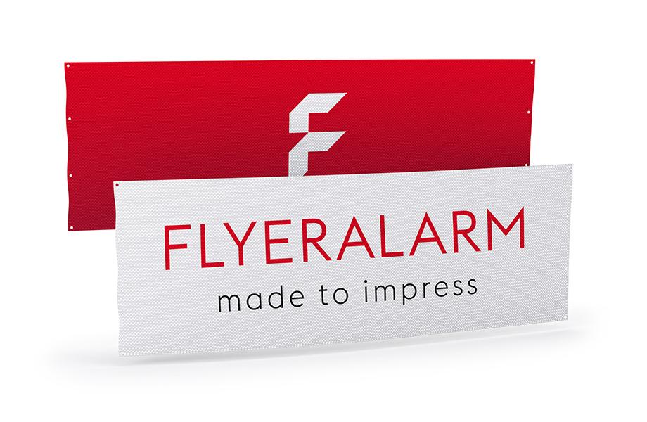 Dekostoff Banner im Wunschformat drucken bei FLYERALARM