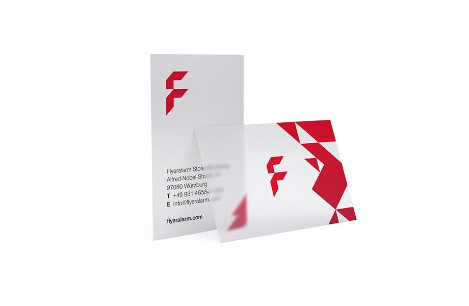 Transparente Visitenkarten Mehr Exklusive Materialien Bei