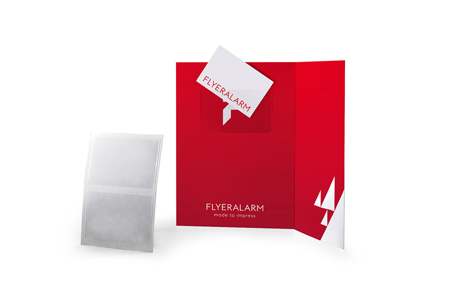 Poches Cartes De Visite Adhesives