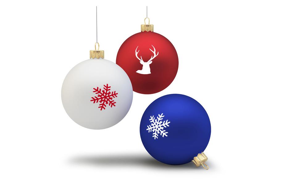 Weihnachtskugeln Drucken Bei Flyeralarm